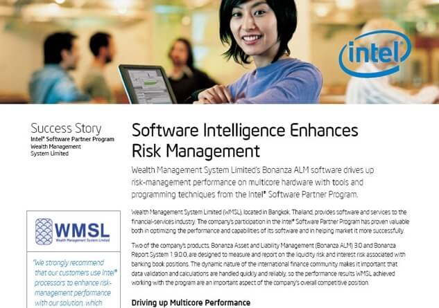 Intel Thailand announced success with WMSL