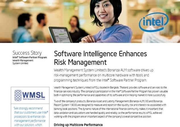 Intel Thailand announced success with WMSL