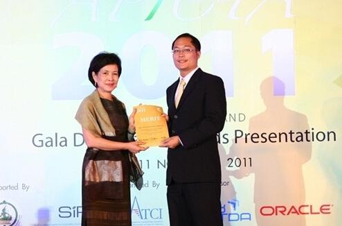 APICTA 2011 Merit Award