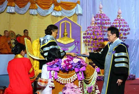 WMSL CEO received Honorary doctorate degree