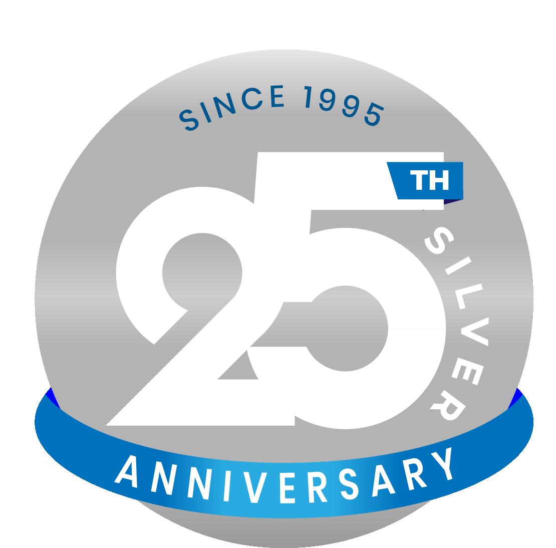 25Years Anniv Logo