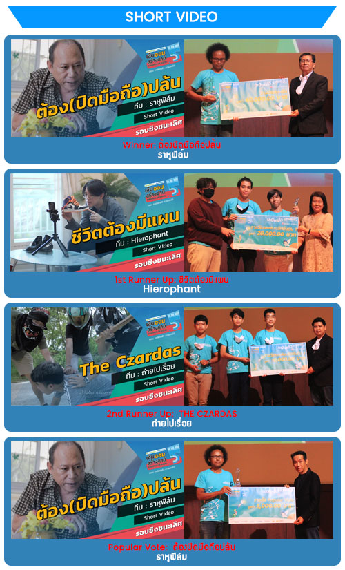 Short Video Winners